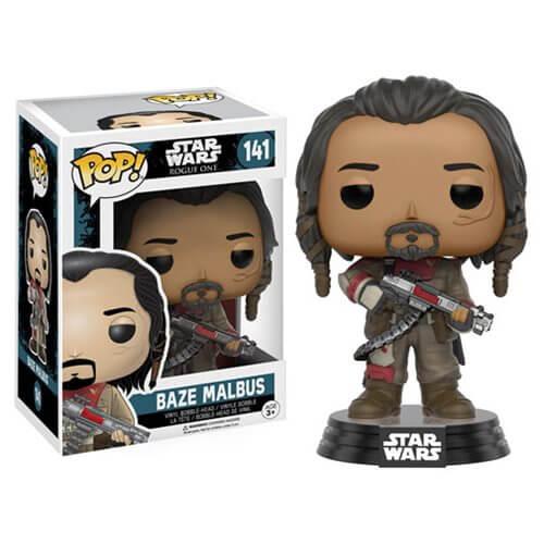 Star Wars Rogue One Baze Malbus Pop! Vinyl Bobble Head