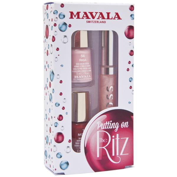 Mavala Putting on the Ritz Nail Polish and Lipgloss - Waltz