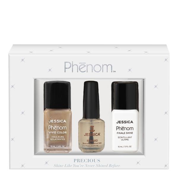 Jessica Nails Phenom Precious Metals Gift Set - Gold Vermeil