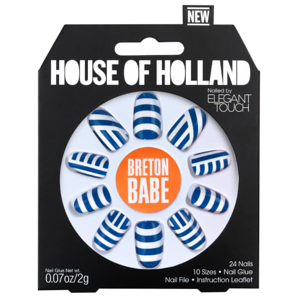 Elegant Touch House of Holland V Nails - Breton Babe