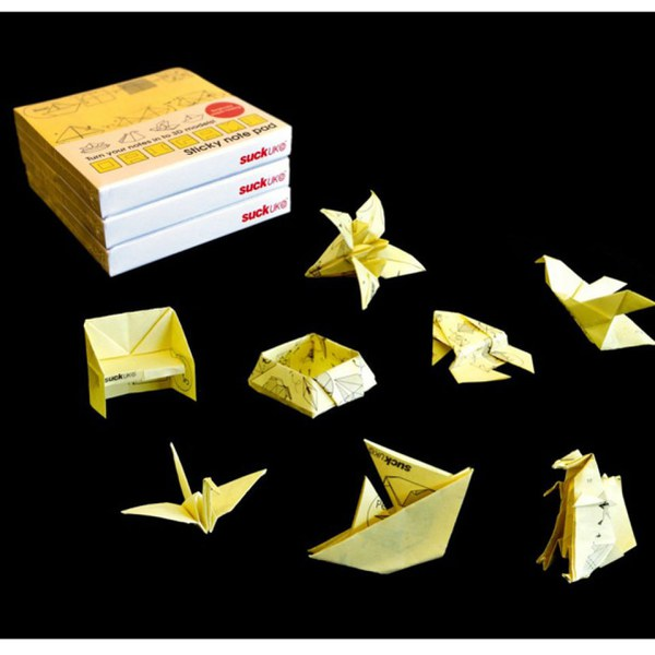 Origami Sticky Note Pad Iwoot