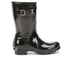 Hunter Women's Original Gloss Short Wellies - Black: Image 1