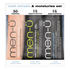 men-ü Matt Refresh and Moisturise Set - 15ml (3 Products): Image 1