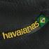 Havaianas Unisex Brasil Logo Flip Flops - Black: Image 4