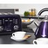 Morphy Richards 4 Slice Accents Toaster - Plum: Image 5