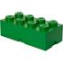 LEGO Storage Brick 8 - Dark Green: Image 1