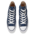 Converse Chuck Taylor All Star Canvas Hi-Top Trainers - Navy: Image 2