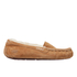 UGG Women's Ansley Moccasin Suede Slippers - Chestnut: Image 1