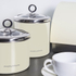Morphy Richards Accents Large Storage Canister - Cream: Image 3