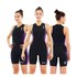 Zone3 Women's Aquaflo Triathlon Suit - Black/Purple: Image 3
