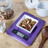 Morphy Richards 46183 Electronic Kitchen Scales - Plum: Image 3
