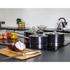 Morphy Richards 46390 3 Piece Saucepan Set - Black - 16/18/20cm: Image 2