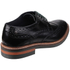 Base London Men's Woburn Brogue Shoes - Black: Image 2