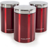 Morphy Richards 974100 6 Piece Storage Set - Red: Image 3