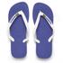 Havaianas Unisex Brasil Logo Flip Flops - Marine Blue: Image 1