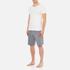 Derek Rose Men's Marlowe 1 Shorts - Charcoal: Image 4
