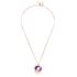 Katie Rowland Women's Orb Statement Pendant Necklace - 18 Carat Rose Gold: Image 1