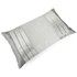 Catherine Lansfield Gatsby Filled Cushion - Silver (30X50cm): Image 2