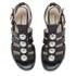 Markus Lupfer Women's Nappa Silver Balls Sandals - Black: Image 2