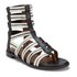 Thakoon Addition Women's Taylor 2 Leather Stripe Gladiator Sandals - Black: Image 5