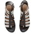 Thakoon Addition Women's Taylor 2 Leather Stripe Gladiator Sandals - Black: Image 2
