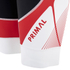 Primal Infrared QX5 Bib Shorts - Red/White/Black: Image 3