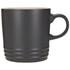 Le Creuset Stoneware Mug, 350ml - Satin Black: Image 1