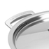 Le Creuset 3-Ply Stainless Steel Deep Casserole Dish with Lid - 24cm: Image 3