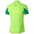 Asics Men's Shorts Sleeve Half Zip Running T-Shirt - Green Gecko: Image 2