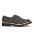 Dr. Martens Men's 'Made in England' Crafted Lester 3-Eye Leather Shoes - Black Melange Silk: Image 1