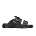 Dr. Martens Men's Shore Brelade Buckle Leather Slide Sandals - Black Brando: Image 1