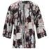 VILA Women's Sari Printed Kimono - Black: Image 1