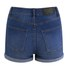 Cheap Monday Women's 'Short Skin' High-Waist Denim Shorts - Sonic: Image 4