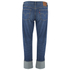 Levi's Women's 501 Cali Cool Mid Rise Tapered Jeans - Dark Indigo: Image 2