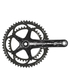 Campagnolo Athena 11 Speed Power Torque Carbon Chainset - Black: Image 1