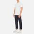 Levi's Men's Slim 2 Pack Crew T-Shirts - White/White: Image 5