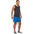 Under Armour Men's Launch 5 Inch Running Shorts - Blue Jet/Black/Reflective: Image 2