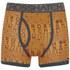 Crosshatch Men's Squint 2-Pack Boxer Shorts - Apricot/Blue Wing: Image 2