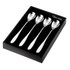 Robert Welch Stanton Long Handled Tea Spoons (4 Piece Set): Image 1