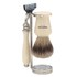 Truefitt & Hill Double Wire Razor and Brush Stand - Chrome: Image 1