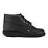 Kickers Men's Kick Hi Leather Boots - Black: Image 1