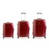 Redland '60TWO Collection' Hardsided Trolley Suitcase Set - Red - 75/65/55cm (3 Piece): Image 1