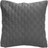 Quilted Cushion - Grey: Image 1