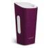 Sonoro Cubo Go New York Portable Bluetooth Speaker - White/Purple Felt: Image 1