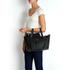 meli melo Thela Medium Tote Bag - Black: Image 5
