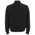 Knutsford Men's 'Made in England' Moleskin Zip-Through Bomber Jacket - Black Moleskin: Image 2