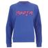 House of Holland Women's Booya Loopback Jersey Sweatshirt - Blue: Image 1