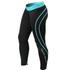 Better Bodies Athlete Tights - Black/Aqua: Image 1