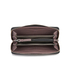 Calvin Klein Sofie Large Leather Purse - Claret: Image 4