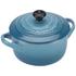 Le Creuset Stoneware Petite Casserole Dish - Teal: Image 2